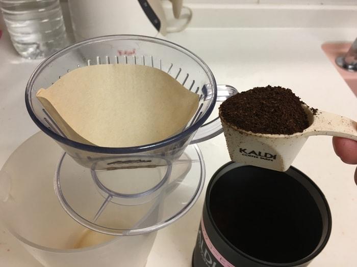 コーヒーエネマの濃度1